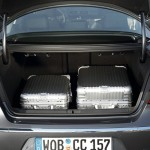 Der Kofferraum des Volkswagen CC