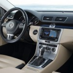 Die Mittelkonsole des Volkswagen CC