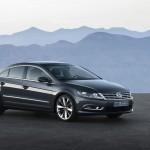 Neuer Volkswagen CC in der Front und Seitenansicht