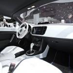 Der Innenraum des Volkswagen E-Bugster