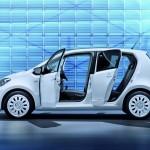 Volkswagen Up 4-Türer in der Seitenansicht