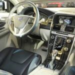 Der Innenraum des Volvo XC60 Hybrid