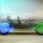 Der Antrieb des Volvo XC60 Plug-in-Hybrid Concept