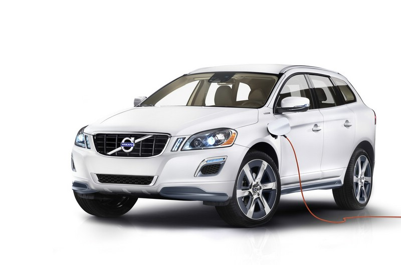 Volvo XC60 Plug-in-Hybrid Concept kann ganz normal zuhause aufgeladen werden