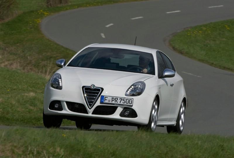 Das Testfahrzeug Alfa Romeo Giulietta 2.0 JTDM 16 V