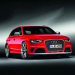 Der neue Audi RS 4 Avant in der Frontansicht