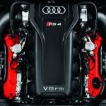 Der 4,2-Liter-V8-Motor des Audi RS 4 Avant