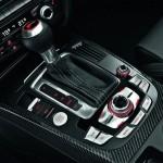 Der Audi RS 4 Avant Schaltknauf mit viel Chrom