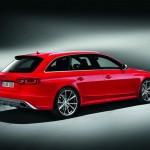 Der Audi RS 4 Avant in der Seitenansicht