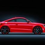 Der Audi TT RS Plus in der Seitenansicht