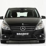 Die Mercedes-Benz B-KLasse von Brabus in der Frontansicht
