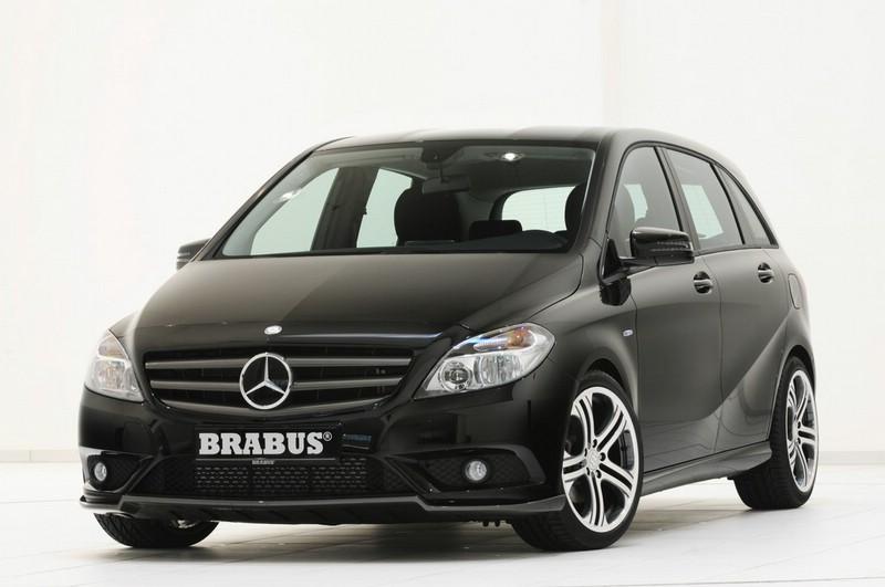 Die Frontpartie der Mercedes-Benz B-KLasse von Brabus