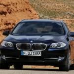 Die Frontpartie des BMW 5er Touring