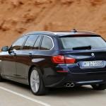 Das Heck des BMW 5er Touring