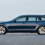 Der BMW 5er als Touring in der Seitenansicht