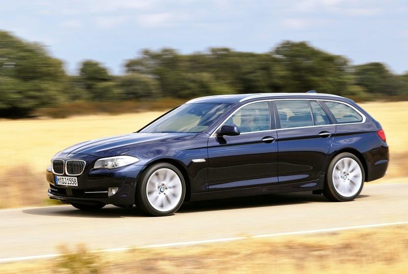 Der BMW 5er Touring 2012