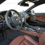 Das Cockpit des BMW 640d xDrive - Ledersitze, Navi