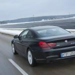 Der BMW 640d xDrive (Allrad) in der Heckansicht