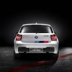 Der BMW M135i Concept in der Heckansicht