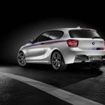 Die Heckpartie des BMW M135i Concept