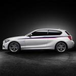 Der BMW M135i Concept präsentiert sich von der Seite