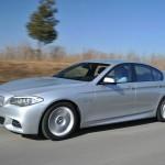 Der BMW M550d Performance xDrive soll nur 6,3 Liter Kraftstoff auf 100 Kilometer verbrauchen.