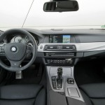 Das Interieur des BMW M550d Performance xDrive