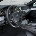 Das Cockpit des BMW M550d Performance xDrive