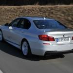 Der BMW M550d Performance xDrive mit 19 Zoll Felgen