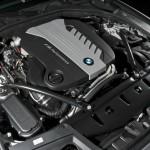 Der 3.0 Motor des BMW M550d Performance xDrive mit 381 Diesel-PS