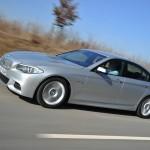 Der BMW M550d Performance xDrive als Limousine
