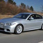 Der BMW M550d Performance xDrive: Foto von der Seite