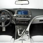 Das Armaturenbrett des neuen M6 von BMW
