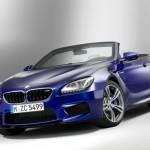 Der neue BMW M6 als Cabrio in der Frontansicht