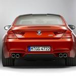 Der BMW M6 Coupe in der Heckansicht