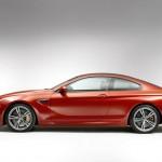 Der BMW M6 Coupe in der Seitenansicht