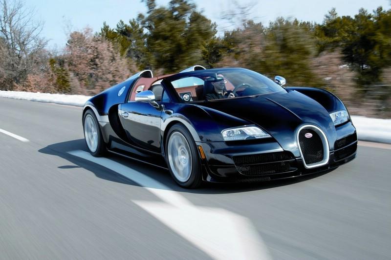 Der Bugatti Veyron 16.4 Grand Sport Vitesse wird auf dem Genfer Autosalon 2012 zu sehen sein