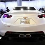 Chevrolet 140S ist neben den 130R die zweite Fahrzeug-Studie in Genf