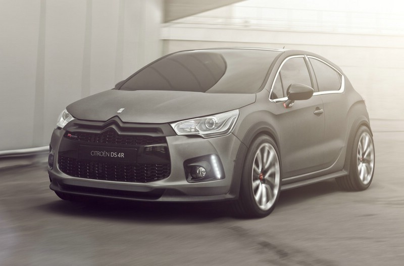 Die Citroen-Studie DS4 Racing leistet 256 PS