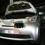Der Toyota iQ EV mit Elektroantrieb