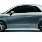Fiat 500 ID in der Minimal Grau / Electroclash Grau Lackierung