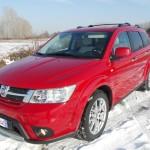 Der Fiat Freemont AWD im Winter auf Schnee