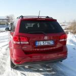 Die Heckpartie des neuen Fiat Freemont AWD