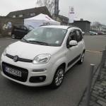 Die Frontpartie des neuen Fiat Panda