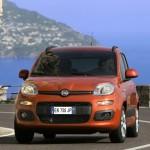 Die Frontpartie des Fiat Panda