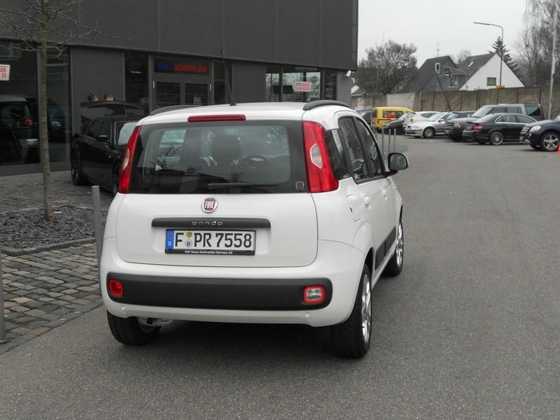 Fiat Panda präsentiert sich von hinten