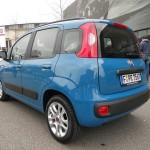 Der neue Fiat Panda in de Heck- Seitenansicht