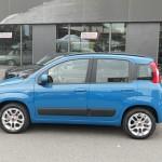 Der neue Fiat Panda in der Seitenansicht (Blau)