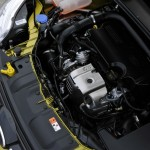 Der Motorraum des Ford Focus Ecoboost