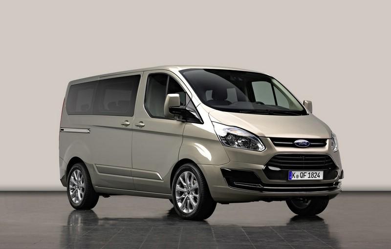 Den Transit Tourneo Custom Concept wird Ford auf dem Genfer Autosalon vorstellen